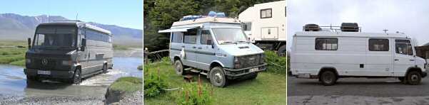Choosing An Overland Campervan